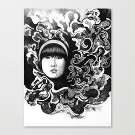 gritty Canvas Print