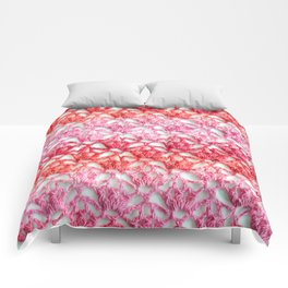 Cherry blossom crochet Comforters