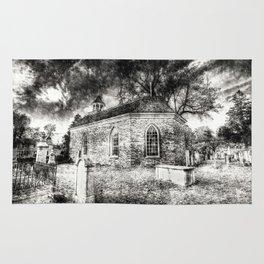 Sleepy Hollow Dutch Church Vintage Rug