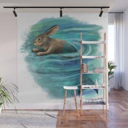 River raddit Wall Mural