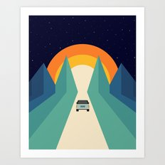 Wonderful Trip Art Print