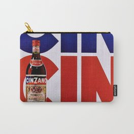 Vintage 'Cin Cin' Italian Cordial Cinzano Advertisement Poster Carry-All Pouch