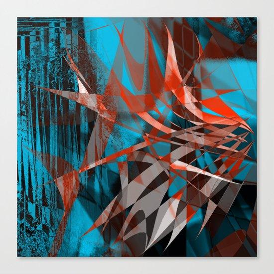 floating menance Canvas Print