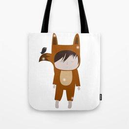 Foxie Boy Tote Bag