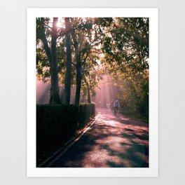 Cambridge Morning Art Print