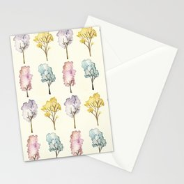 Watercolour Trees Stationery Cards