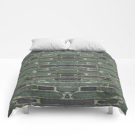 Slate Wall Comforters