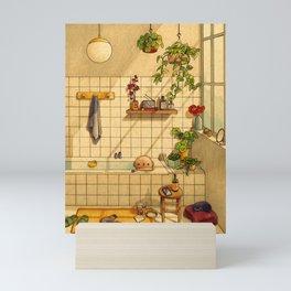 Bathroom Mini Art Print