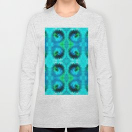 209 - Abstract spikey spheres design Long Sleeve T-shirt