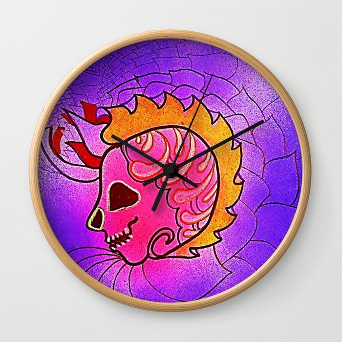 CRÁNEOS 18 Wall Clock