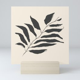 breezy palm Mini Art Print