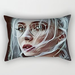 Painted beauty Rectangular Pillow
