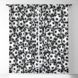 Soccer balls Blackout Curtain