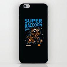 Super Raccoon iPhone & iPod Skin