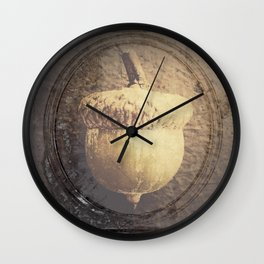 ACORN - PORTRAIT Wall Clock