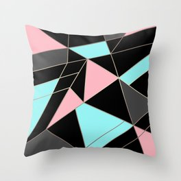 Abstraction . 5 geometric pattern Throw Pillow