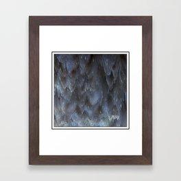 the Cavern Nebula Framed Art Print