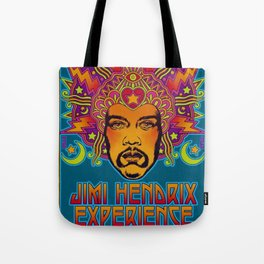 1968 Jimi Hendrix Experience Fillmore East San Francisco Concert Poster Tote Bag