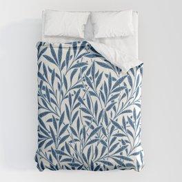 William Morris Navy Blue Botanical Pattern 9 Comforters