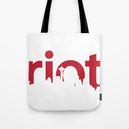 Seattle Riot | Skyline Tote Bag