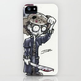 The Friday the 13th Witch iPhone Case