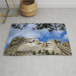 Mount Rushmore Rug
