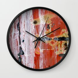 Abstract Painting Untitled #45 Wall Clock