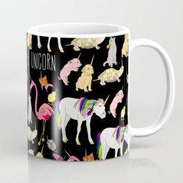 Funny Unicorn Party Coffee Mug