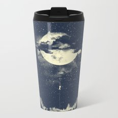 MOON CLIMBING Metal Travel Mug