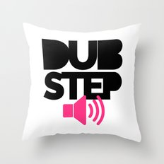 Dubstep Speaker Music Quote Throw Pillow