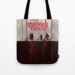 A little too strange Tote Bag