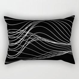 Lines // Waves Rectangular Pillow