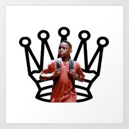 Queen. Art Print