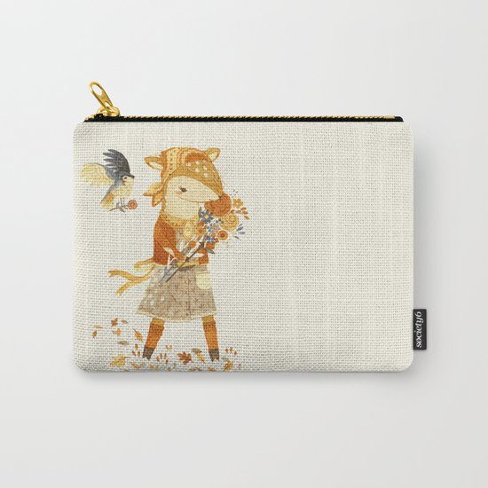Dakota the Daisy Deer Carry-All Pouch