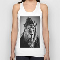 Dignty Of The Lion Unisex Tank Top