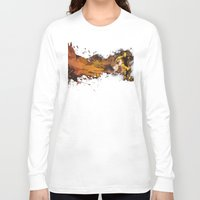 football Long Sleeve T-shirts featuring Football by Frauste