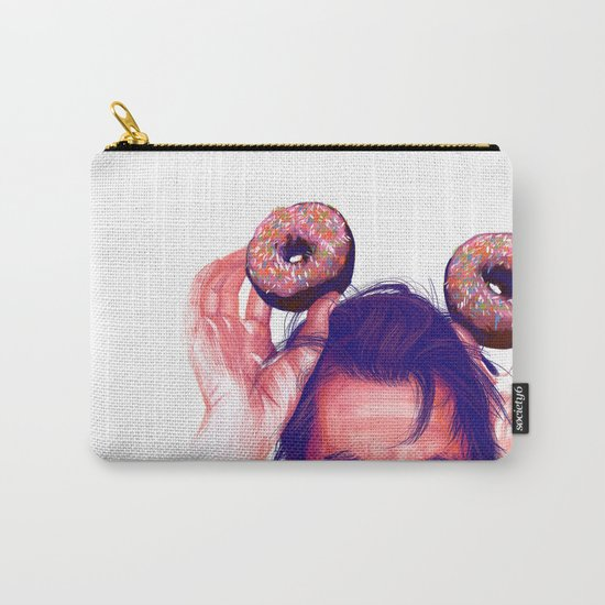 Steve Buscemi and donuts Carry-All Pouch