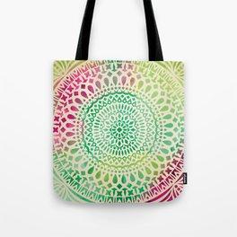 mandala11 Watercolor Mandala Tote Bag