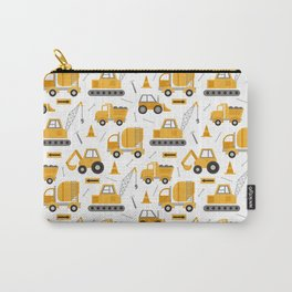 Construction Trucks Carry-All Pouch