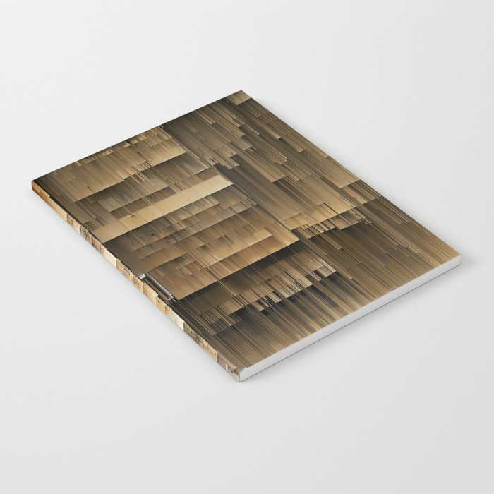 Wall of Wood Notebook