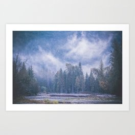 Misty Magic Art Print