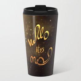 adele hello Travel Mug