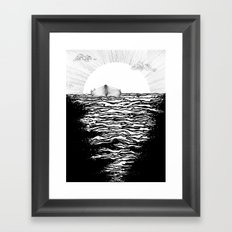 Abandoned to the Sun Framed Art Print