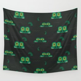 See you later alligator (Patterns Please) Wall Tapestry