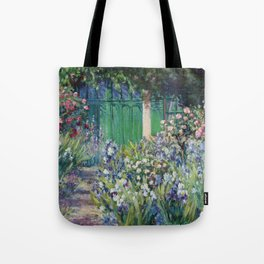 Monet's Door — Giverny, France Tote Bag