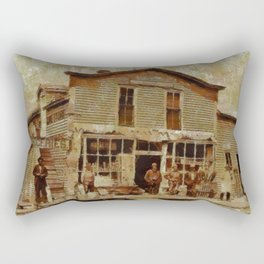 Once Upon a Time In West, Gold Rush Rectangular Pillow