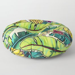 Local Bananas Floor Pillow
