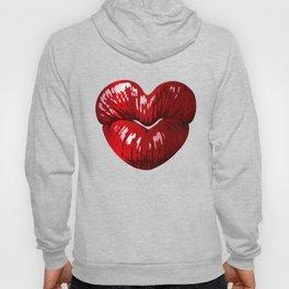 Heart Shaped Lips Hoody