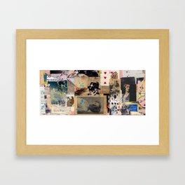 Missing Incidents on the Indian Ocean Framed Art Print