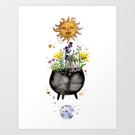 Beltane Blessings Art Print